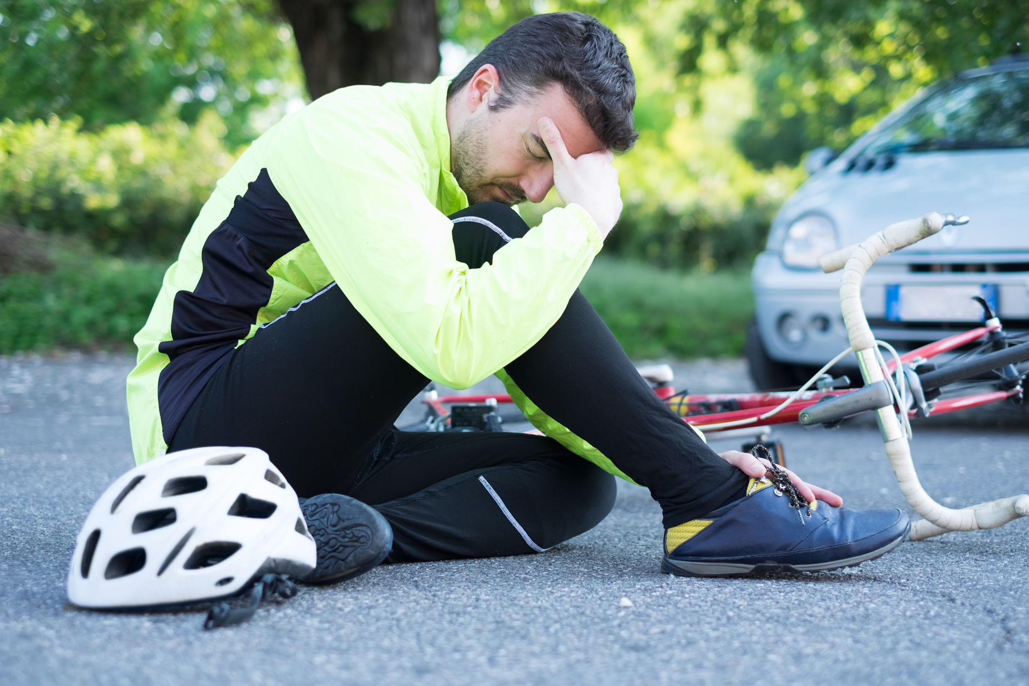 Knocked off Bike, Bicycle Accident, Cyclist Crash - Personal Injury Claim Experts / No Win, No Fee / Accident Claims UK