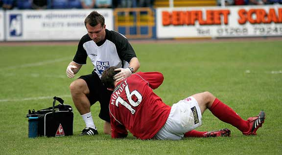 Football Head Injury Claim