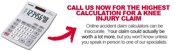 Don't Use a Knee Injury Compensation Calculator
