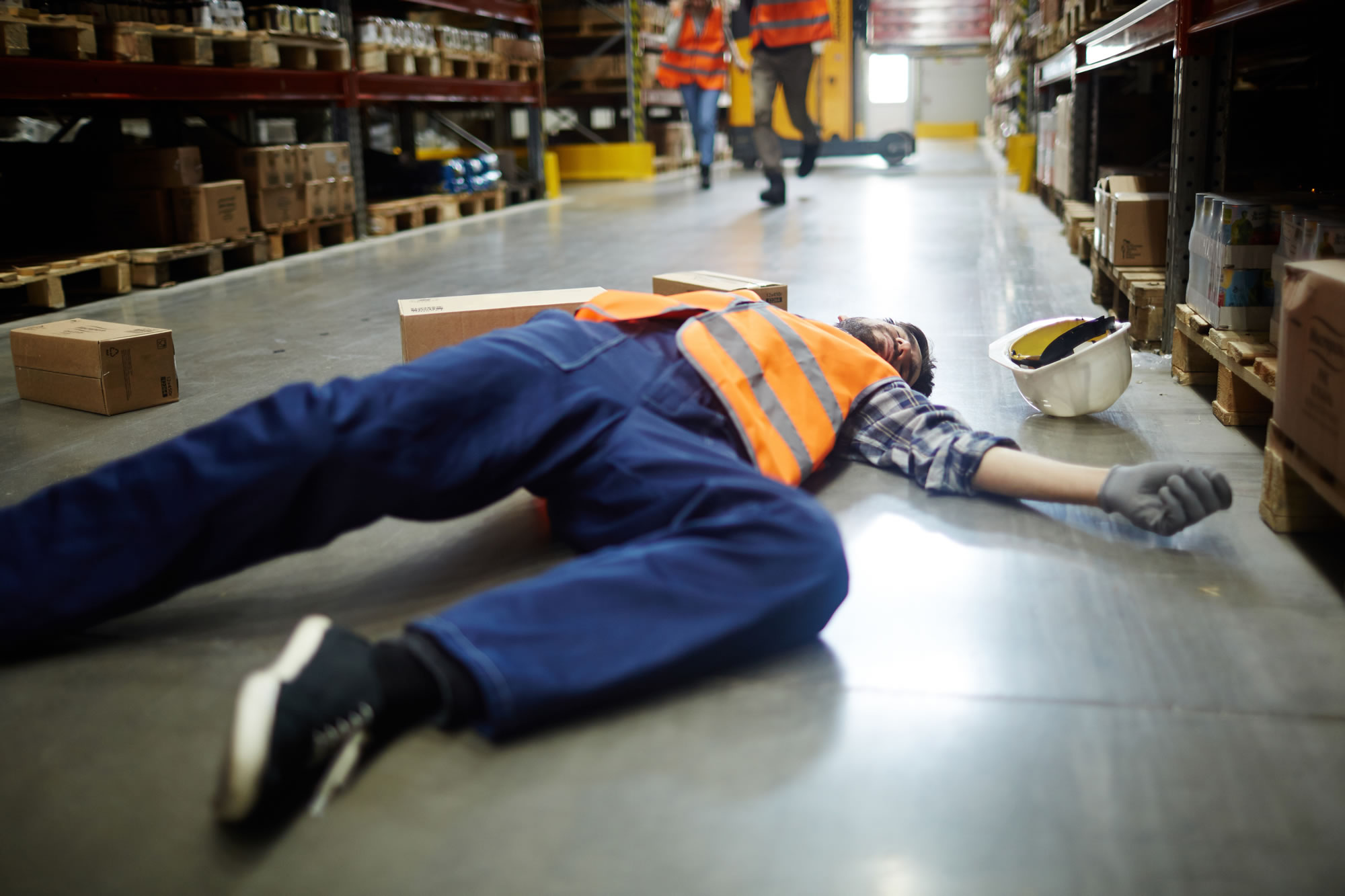 Workplace Slip, Trip or Fall - slip and trip hazards in the workplace, suing employer for negligence