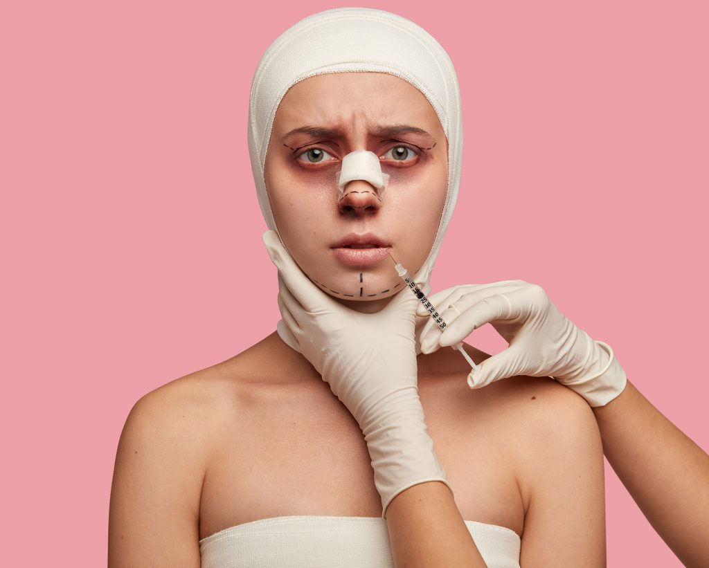 Cosmetic surgery mishaps, mistakes and malpractice. medical negligence