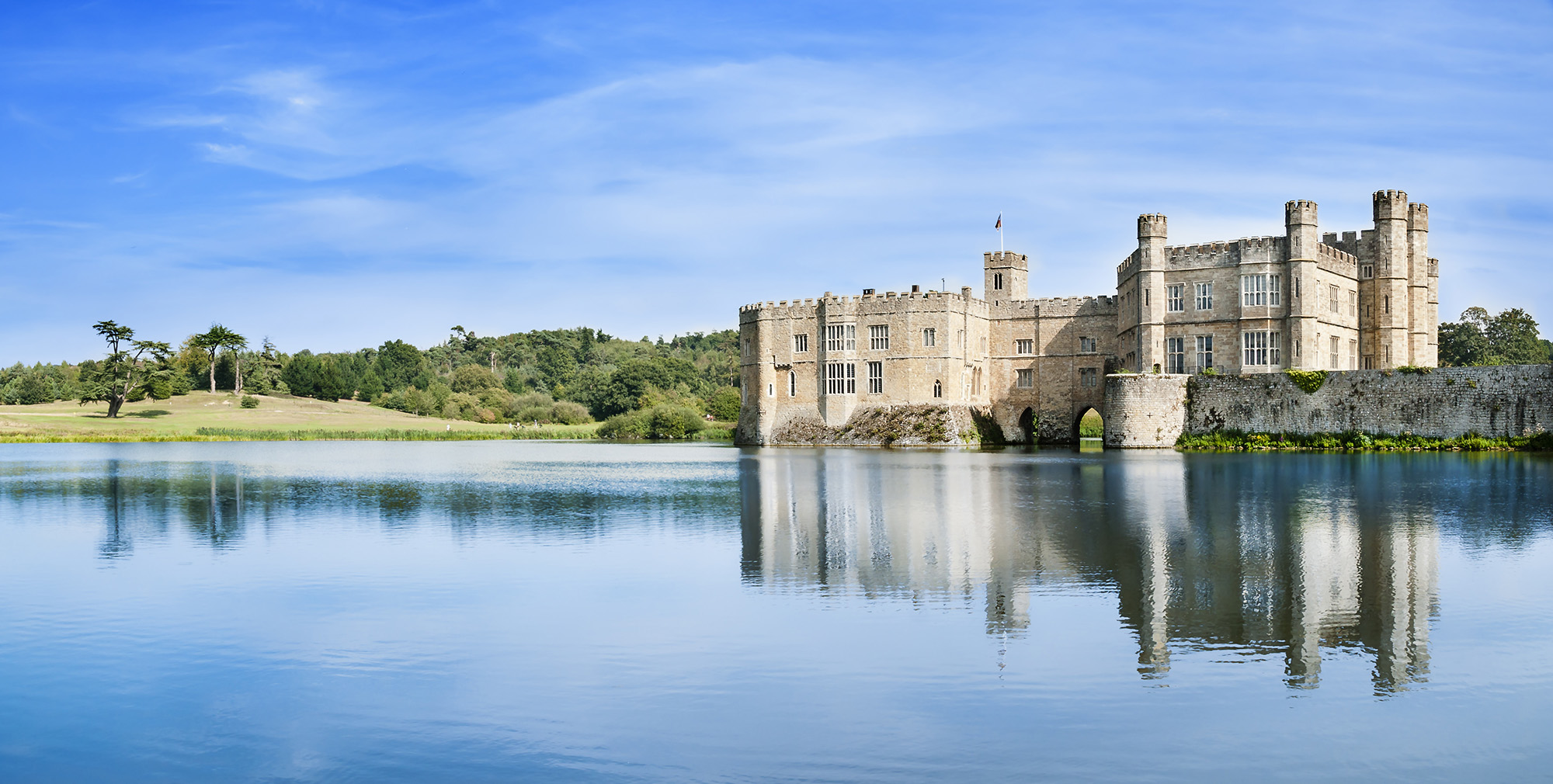 Leeds Castle in England
