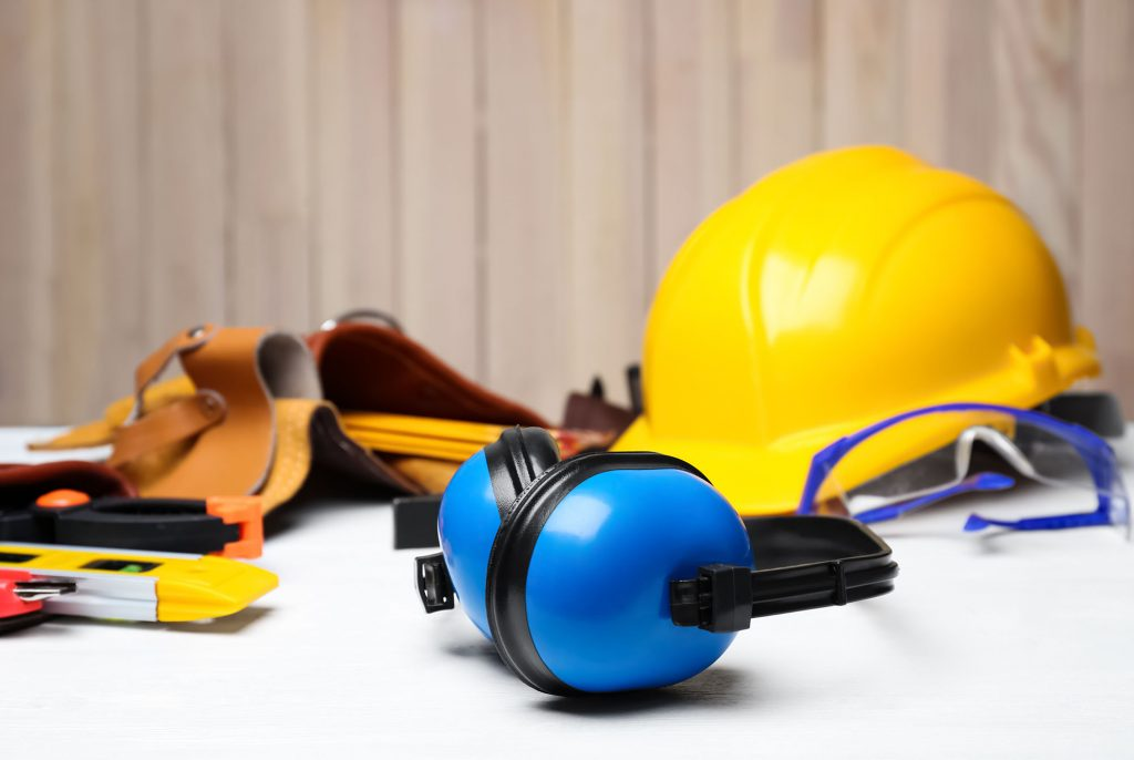PPE personal proective equipment. workplace injury industrial accident claims