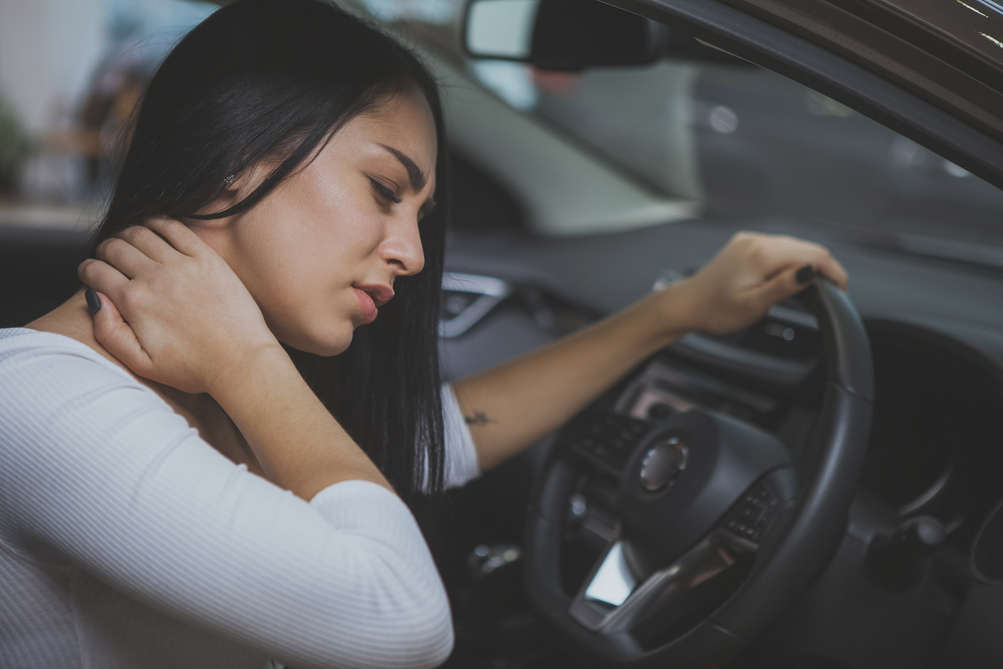 neck injury whiplash from car accident compensation claims
